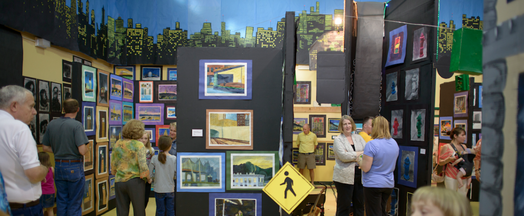 """The City"" themed Art Show at BJAMS"