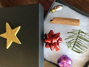 Christmas in a Box: the Sights, Sounds, and Smells of Christmas